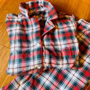 Ralph Lauren Plaid Pajamas Size Large NWOT